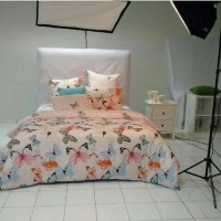 harga Sprei shabby chic buttetfly peach Queen uk.160x200x200 Tokopedia.com