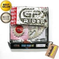 Gir Paket Baja GPX Yamaha Rx-King,paket Gear Rantai motor,Drive chain