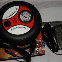 harga POMPA BAN MOBIL/MOTOR KOMPRESOR LISTRIK DC (220V/12V) Tokopedia.com