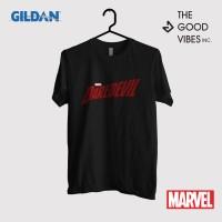 Kaos Film Merchandise Marvel Original Gildan - Daredevil