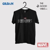 Kaos Film Merchandise Marvel Original Gildan - The Defenders