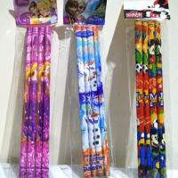Pensil Paket 4 Pcs / Pensil Pack / Pensil Murah