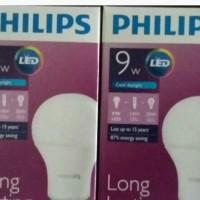 Jual Lampu LED Philips 9 watt Bohlam 9w / Philip Putih 9 w Bulb LED 9watt Murah