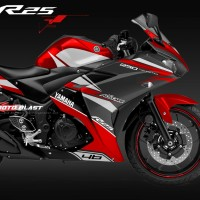 Yamaha R25 RED - Alstare sporty