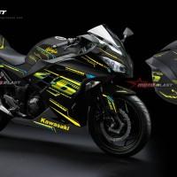 Kawasaki Ninja 250R Fi Black - AGV VR46 Project
