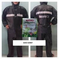 Jual Jas Hujan Axio Karet Original Ax 661 Asli Anti Rembes Anti Bocor Murah