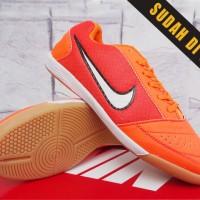 Nike Lunar Gato Orange Grade Ori (Futsal-Soccer-Bola-Sport-Olahraga)