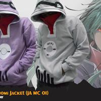 KIDO TSUBOMI - COSPLAY JACKET/ Jaket Musik Anime Jepang (PURPLE/ Ungu)