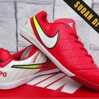 cb84385a55b Sepatu Futsal- Soccer Nike Tiempo Legend Merah Putih Kw Super