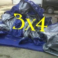 terpal plastik 3 X 4 a\2