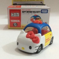 Jual HAPPY BIRTDAY HELLO KITTY - TOMICA DREAM (DIECAST-MINIATUR) Murah