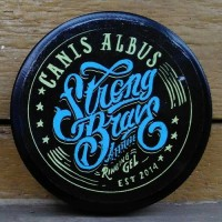 Pomade Strong Brave Attitude Ringing Gel (Canis Albus)