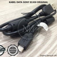 KABEL DATA SONY XPERIA EC450 C3 C5 M2 M4 E3 E5 ZR T2 ULTRA T3 ORIGINAL