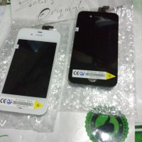 LCD (1set Touchscreen+Frame) iPhone 4 (4G/GSM) (Model: A1332) (Apple)