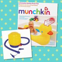 Jual PAKET HEMAT Bak Mandi Bayi Munchkin Bebek + Pompa Injak Bestway Murah