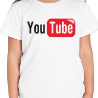 Kaos Anak/Kaos YouTube Ajs93