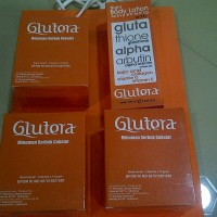Jual GLUTERA 18 SACHET + FACIAL WASH 80 ML Murah