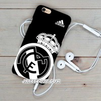 Real Madrid Logo White Samsung Case Note 1 2 3 4 5 Casing COVER HP