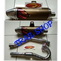 harga Knalpot Cross Merek Gp7 Khusus Buat Motor Trail Klx 150 Tokopedia.com