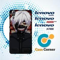Custom Casing HP Lenovo A6000 tokyo ghoul anime Cover, Hardcase