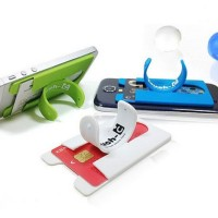 Touch C One Touch Silicone Card Back Holder