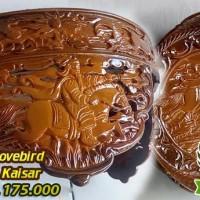 harga Tebok Lovebird Murah Motif Kaisar | Sangkar Burung | Fiber Tokopedia.com