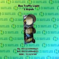 Box Traffic Light 30 cm 3 aspek - Jual Traffic Light