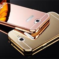 Samsung Galaxy Note 2 Mirror Hard Case Casing HP Kaca Alumunium Bumper