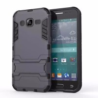 Samsung Galaxy J2 Soft Hard Case Casing Cover HP TPU ARMOR Kick Stand