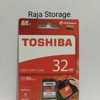 Toshiba 32GB SDCard SDHC Exceria 90MB / S Class 10