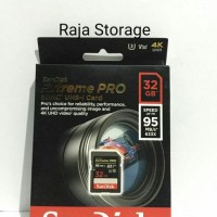 Sandisk SDHC Extreme Pro 32GB (95 Mb / S) SD Card / SDCard