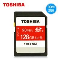 Toshiba 128GB SD Card Exceria 90MB / S Class 10 NEW And ORIGINAL 100%