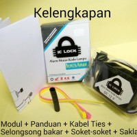 Jual IC Lock tipe 1L - Kunci Rahasia Pengaman Sepeda Motor dengan Sandi Murah