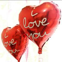 Balon Love Tulisan i love you