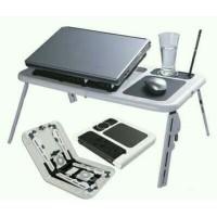 Meja Laptop Portable / E-Table / Meja Serbaguna