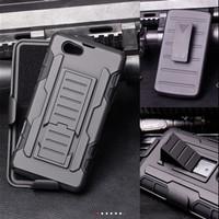 Sony Xperia Z1 mini/ Z1 compact Bumper Armor Dual Layer Full Protecti