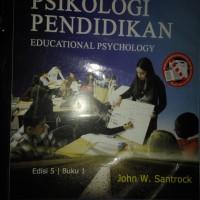 Psikologi pendidikan edisi 5 buku