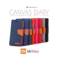 harga Mercury Goospery Canvas Diary Leather Flip Wallet Case Xiaomi Mi Max Tokopedia.com