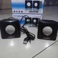 Active Speaker 5M Mini Mungil Murah Meriah Multimedia Standard aktif