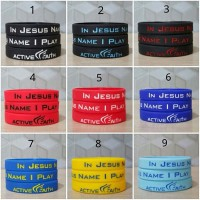 gelang / ballerband basket In Jesus Name I Play (IJNIP) active faith