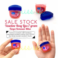 [ sale stock ] Tanpa BOX - Vaseline rosy lips 7 gr