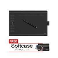 harga HUION NEW 1060PLUS Free Softcase Dan Antigores Tokopedia.com