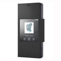 SALE! SONY Style Cover Window SCR26 Xperia Z3 Compact Original - Black