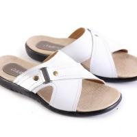 harga Sandal / sendal casual pria kulit super putih Garsel L 205 ori murah Tokopedia.com