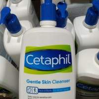 Cetaphil Gentle Skin Cleanser 1000ml 1 Liter Sabun Cuci Muka Face Wash
