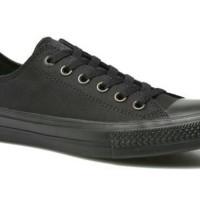 Premium LIKE ORIGINAL !! sepatu casual santai pria converse mono black