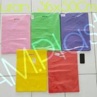 Shopping Bag Kantong Belanja Plastik Online Shop HD Plong 36x50Cm