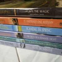 Novel Segel Wallflower Series by Lisa Kleypas