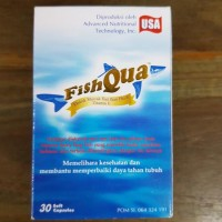 Fishqua Minyak Ikan 30 Kapsul