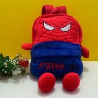 harga Tas Boneka Spiderman / Tas boneka Batman / tas Ransel anak LOKAL!!! Tokopedia.com